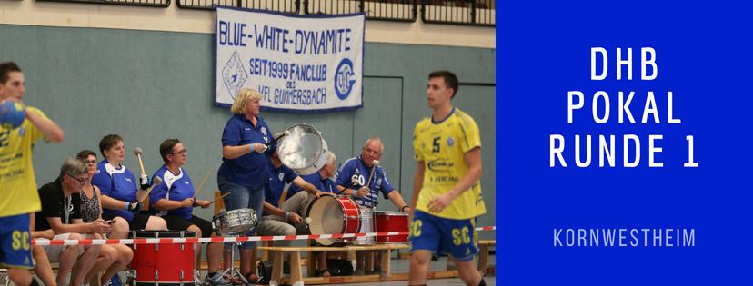 1. Runde im DHB-Pokal – Kornwestheim